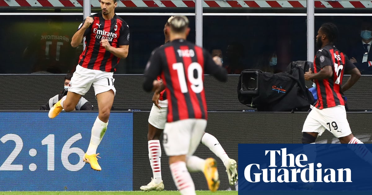 Zlatan Ibrahimovic double strike gives Milan derby victory over Inter
