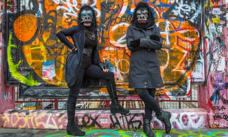 'We feel museums have a duty to tell the real story of art history, not just the white male artist part' ... The Guerrilla Girls