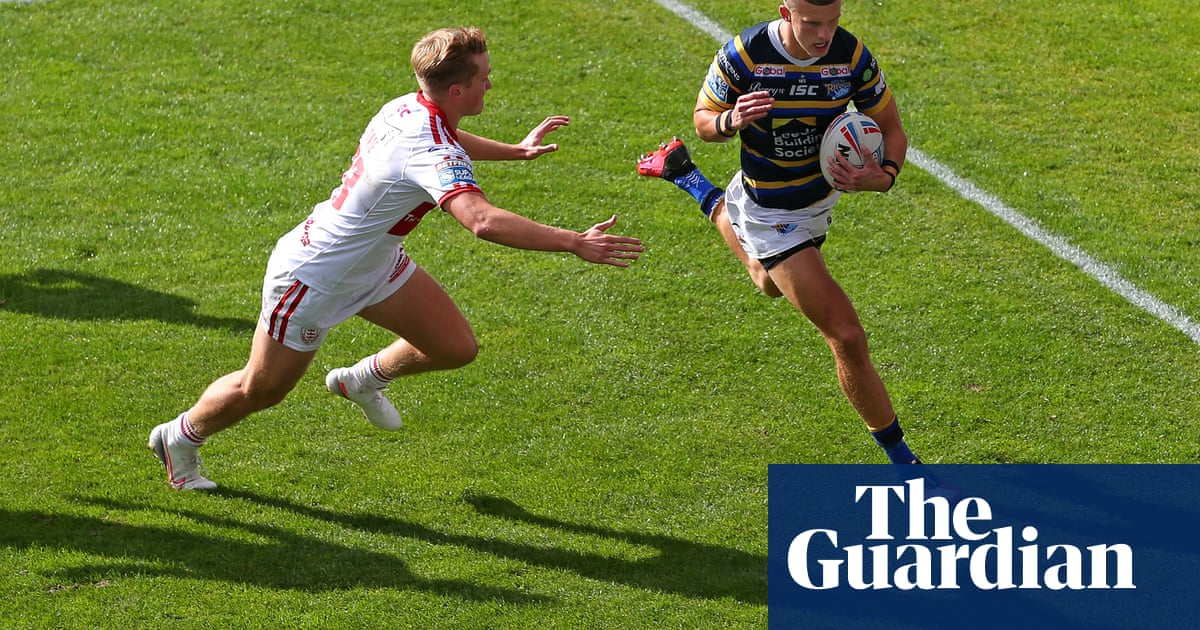 Leeds Rhinos outclass Hull KR but win marred by Harry Newmans broken leg
