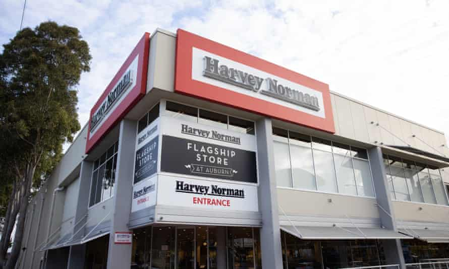 Harvey Norman has repaid less than a third of the estimated $22m the company and its franchisees claimed in total from jobkeeper wage subsidies.