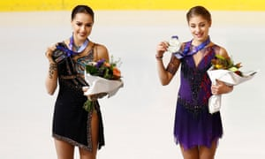 Alena Kostornaia and Alina Zagitova both leapt to fame in their teens