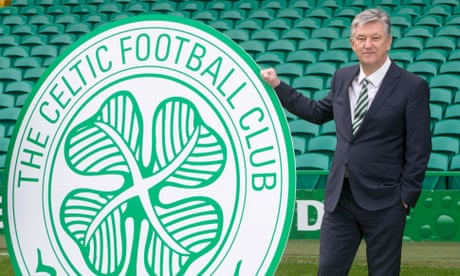 Celtic chief executive Peter Lawwell to step down in summer after 17 years