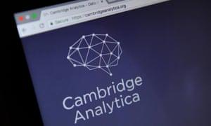 The Cambridge Analytica website