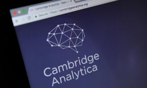 The Cambridge Analytica website