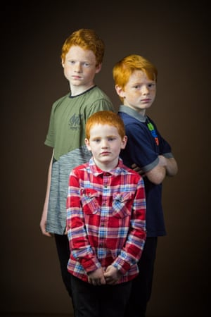 Jamie, Josh & Ryan Hallam (clockwise), from Inverness, Scotland.