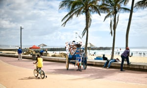 Durban's sub tropical seafront is a delight for all generations.