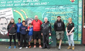 Falls Road Mural Tours, Belfast with Coiste.ie