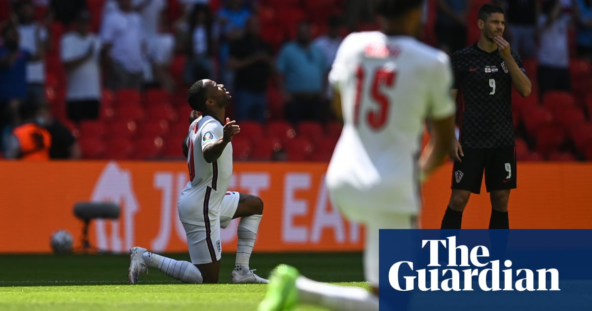 Why England's footballers are so determined to keep taking the knee – podcast