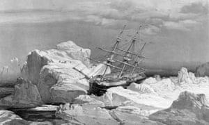 HMS Investigator on Bank Island, 1851