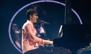 Shawn Mendes at the SSE Hydro, Glasgow on 6 April 2019.