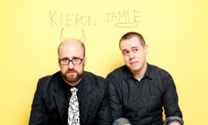 Kieron Gillen and Jamie McKelvie, the creators of The Wicked + The Divine.