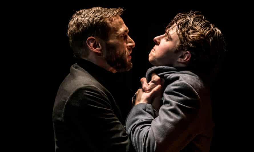 Ruffled feelings … Martin Hutson and Joseph Potter as Marchbanks.