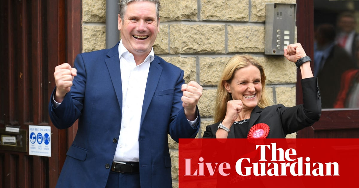Batley and Spen byelection live: Keir Starmer hails Labour win after 'poisoned' campaign