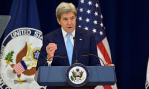 John Kerry's speech felt squarely aimed at Israelis.