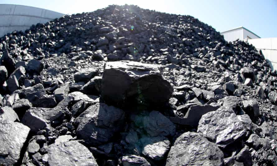File photo of pieces of coal