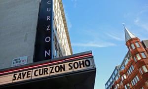 The Curzon Soho on London's West End, survival currently its feature presentation.