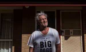 Gippsland jobseeker Mark Lanyon. Some rhetoric dehumanise people seeking help, from 'lifters and leaners' to 'a fair go for those who have a go'