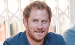 Prince Harry, said to be dating a 'brunette'
