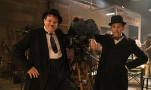 John C Reilly and Steve Coogan as Stan Laurel and Oliver Hardy in Stan & Ollie.