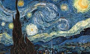 Vincent van Gogh's Starry Night.