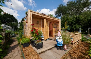 Nature's haven category, Andrius Simaska (Greater Manchester) with Allotment Recycled Pallet Eco Shed A real nod to the shift towards the unlandscaped outdoors where nature is allowed to thrive, this allotment shed is made entirely out of old pallets. Simaska built a table and bench at the side so he can relax in the allotment as well as tend to his vegetable patch. The wild nature of the surrounding greenery sits perfectly with the Nature's Haven category, which is a new addition to the competition.