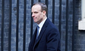 Dominic Raab, the housing minister.