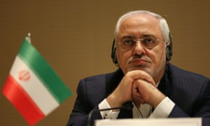 Iran's foreign minister, Mohammad Javad Zarif.