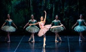 Nicoletta Manni as Dulcinea in Teatro alla Scala Ballet Company's production of Don Quixote.
