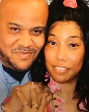 Lynn James-Jackson and her husband Tacuma Jackson.