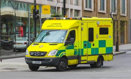 A London ambulance
