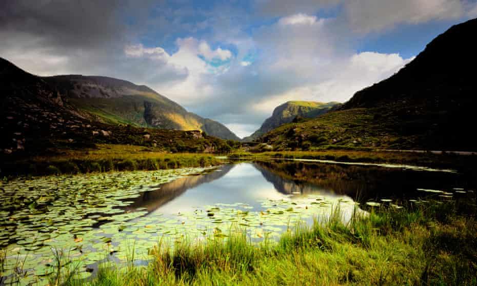 Dark undercurrents … Gap of Dunloe, in Killarney National Park, County Kerry.