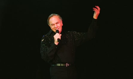 Neil Diamond playing at the SECC in Glasgow in 2002.