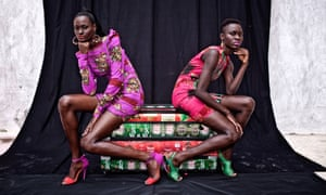 The Guardian Picture Essay  Artanddesign  The Guardian Bling And Beauty Dakars Fashion Comes Of Age  Photo Essay
