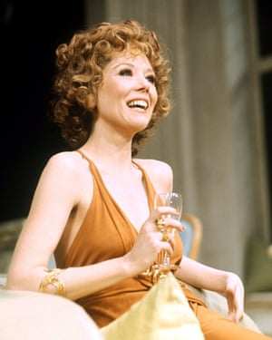 Diana Rigg as Célimène in The Misanthrope, 1973