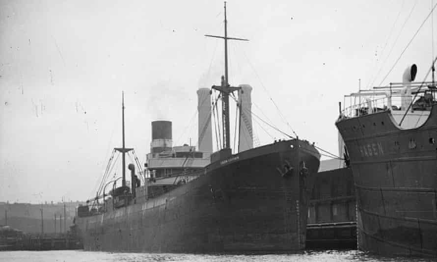 A 1942 cargo ship
