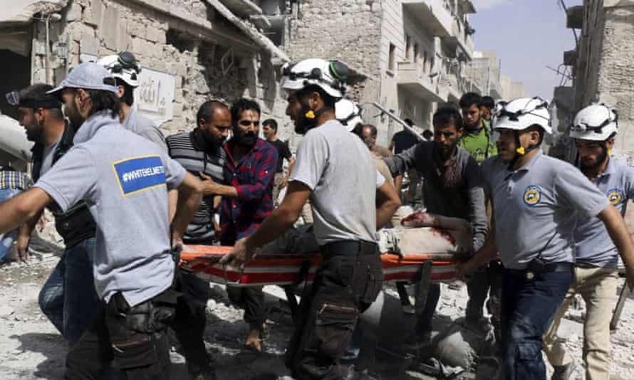 White Helmets, Syria