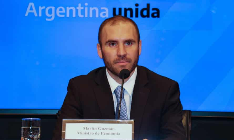 Argentina's new minister of economy, Martín Guzmán