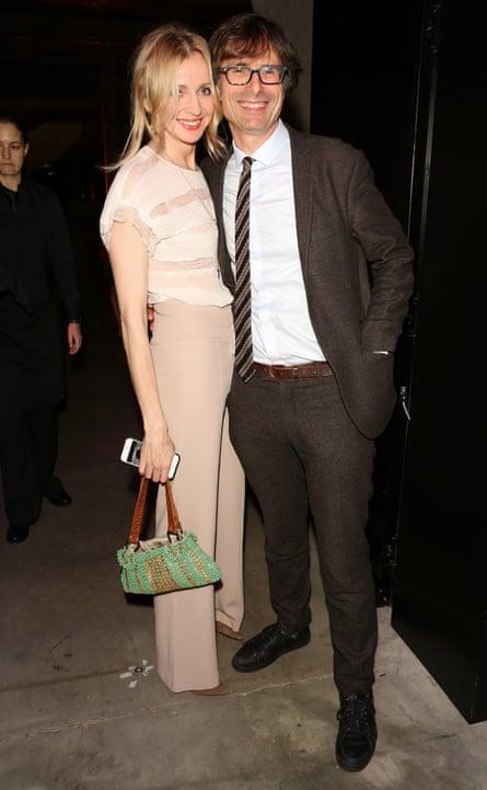 Peston with his new partner, Evening Standard journalist Charlotte Edwardes.