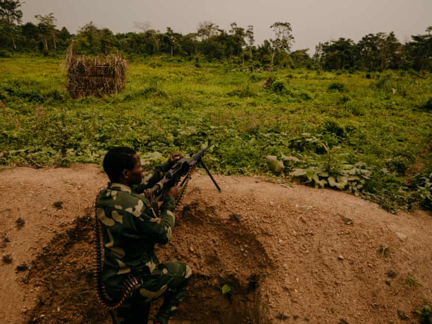 FARDC Frontline Defensive Positions in Mayangose Forest