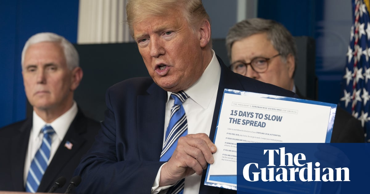 Donald Trump dismisses coronavirus as a 'purely medical problem' – video – The Guardian