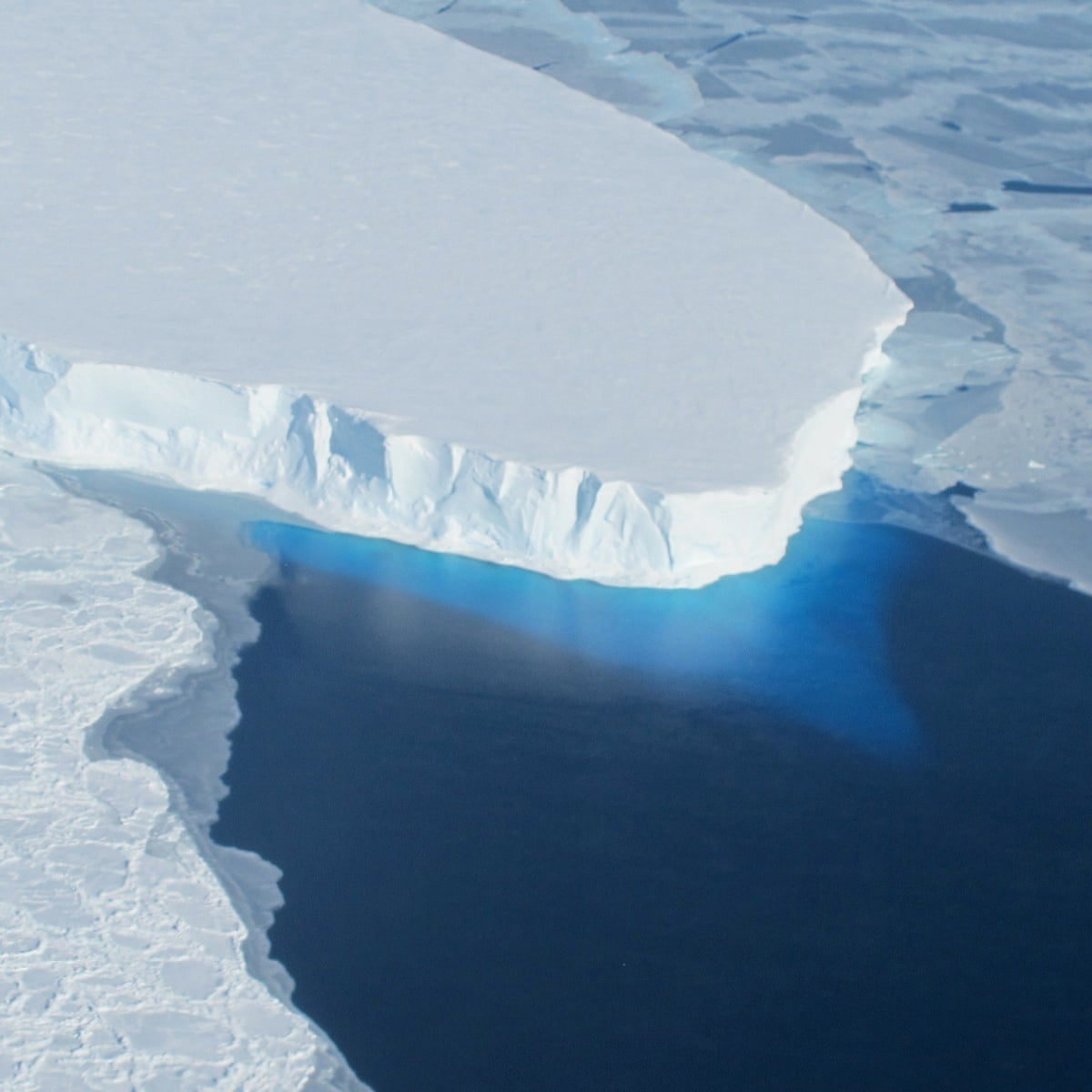 Build walls on seafloor to stop glaciers melting, scientists say   Sea ice    The Guardian