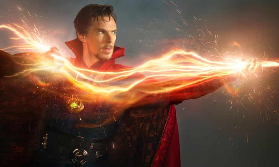 Benedict Cumberbatch in Marvel's Doctor Strange