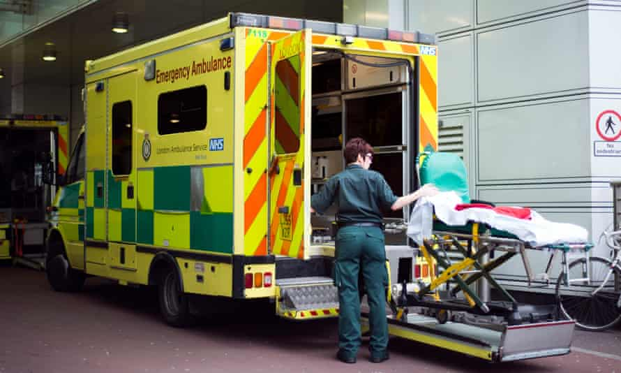 NHS stock. Photo by Alecsandra Raluca Dragoi gstock ambulance hospital paramedic NHS emergency services health service A&E casualty