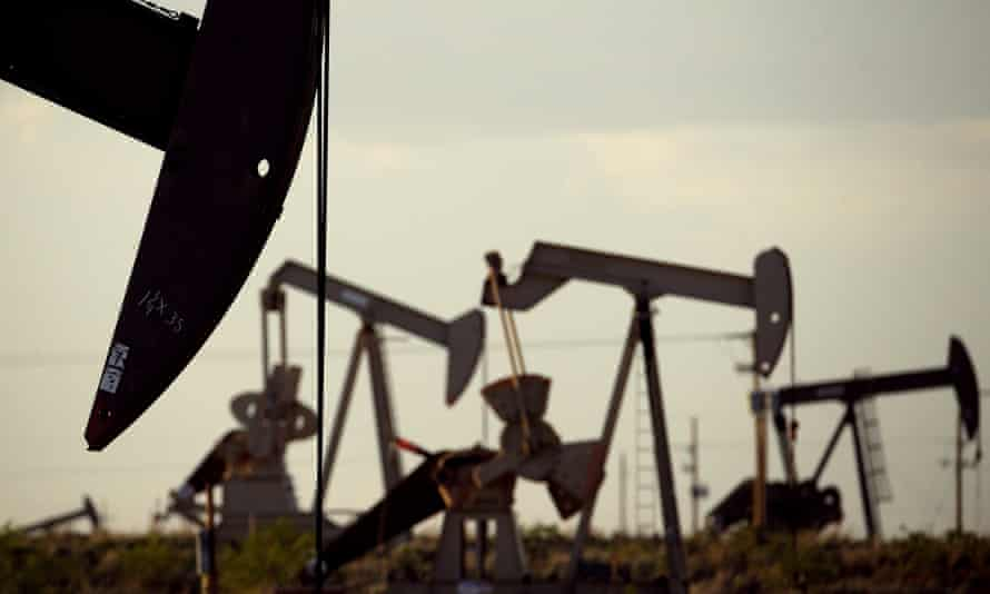 Pumpjacks in New Mexico