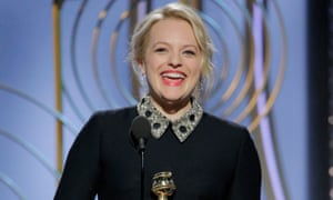Elisabeth Moss wins for her performance in The Handmaid's Tale.