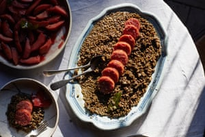 A big batch of brown lentils is a great base for myriad meals.