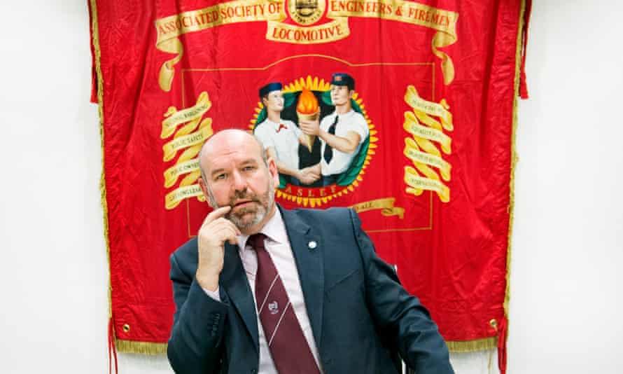 Aslef general secretary Mick Whelan.