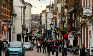 Sir John Timpson called for councils to be given more money to turn town centres into communities and meeting places.