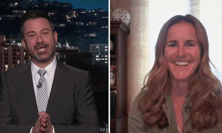 Jimmy Kimmel To Brandi Chastain Do You Know Who This Artist Is And Why He Hates You Late Night Tv Roundup The Guardian