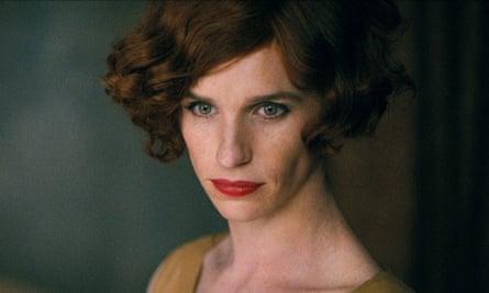 Eddie Redmayne as Lili Elbe in The Danish Girl.